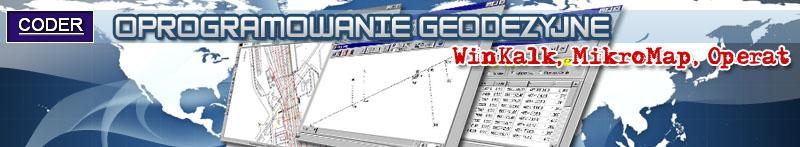 WinKalk,Coder,program geodezyjny